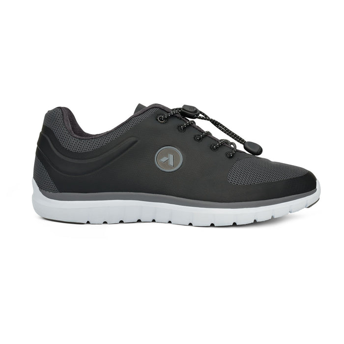 No.23 Sport Runner - Black/Grey - AllForLegs.com