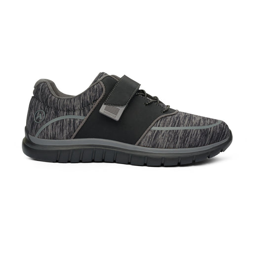No.45 Sport Jogger - Black/Grey - AllForLegs.com