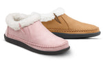 Dr.Comfort Bonita Diabetic Slipper for Women- Pink & Camel