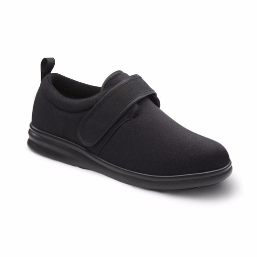 Dr. Comfort Men's Carter Therapeutic Diabetic Comfort Shoe, Black Main Image