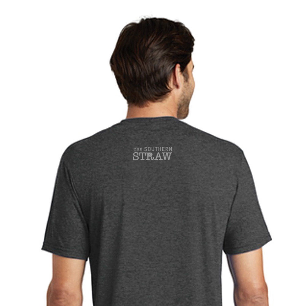 The Southern Straw Logo T-Shirt Dark Grey