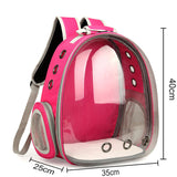 Travel Backpack For Cat and Dog Transparent Backpack