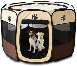 Portable Folding Dog & Pet Tent