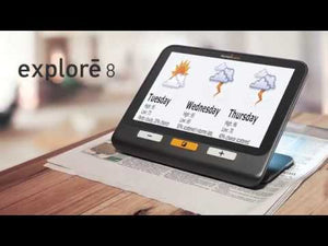 Explore 8 handheld electronic magnifier