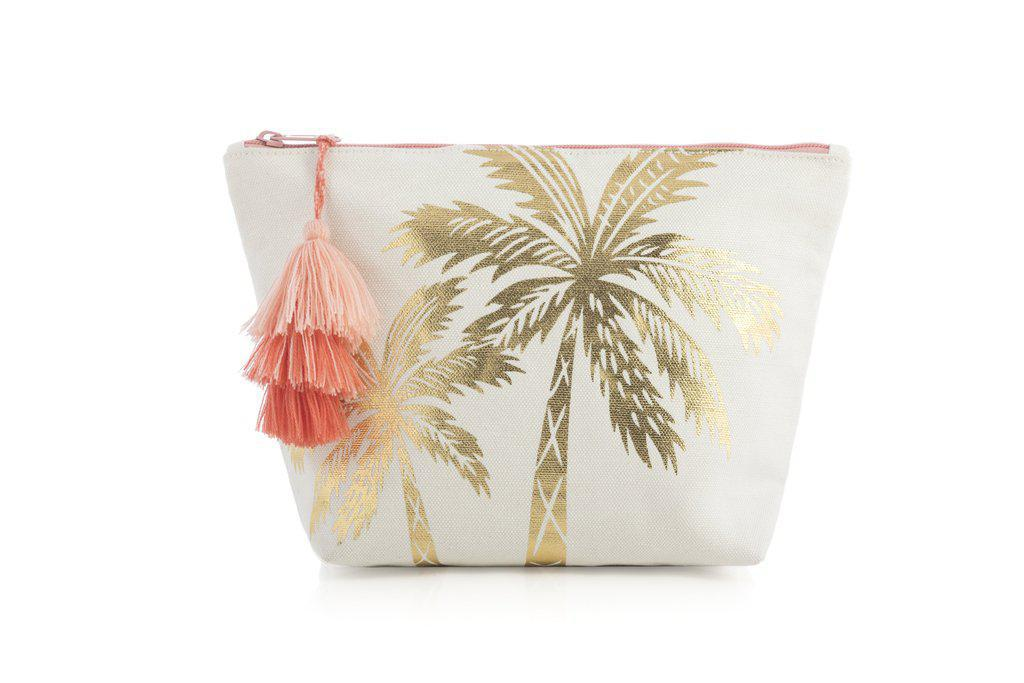 Palm Tree Cosmetic Pouch