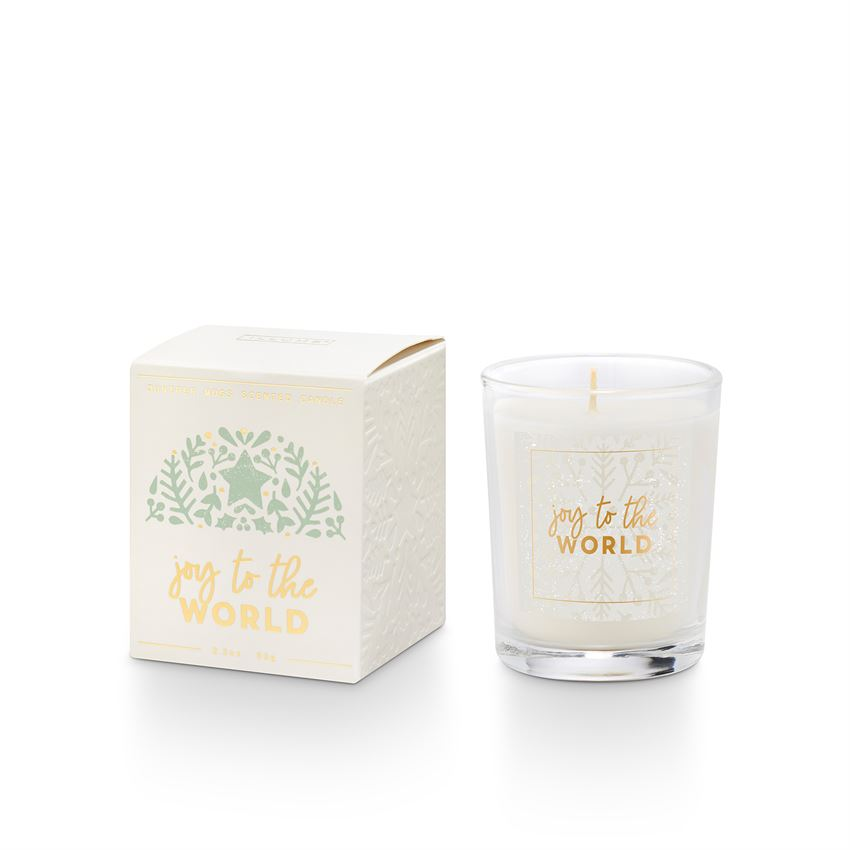 Joy to the World Votive Candle