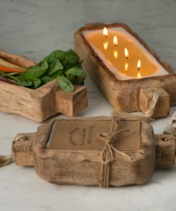 Driftwood Candle Tray
