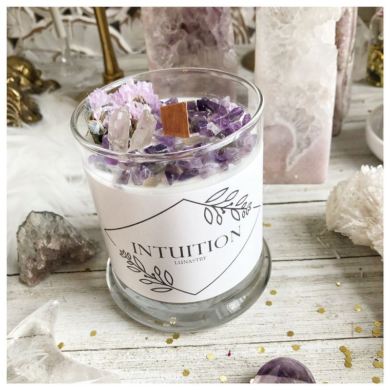 Amethyst Intuition Candle