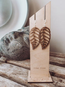 Boho Leaves Earrings