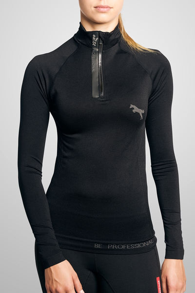ea.St Shirt 'Seamless' long sleeve Trainingsshirt - black