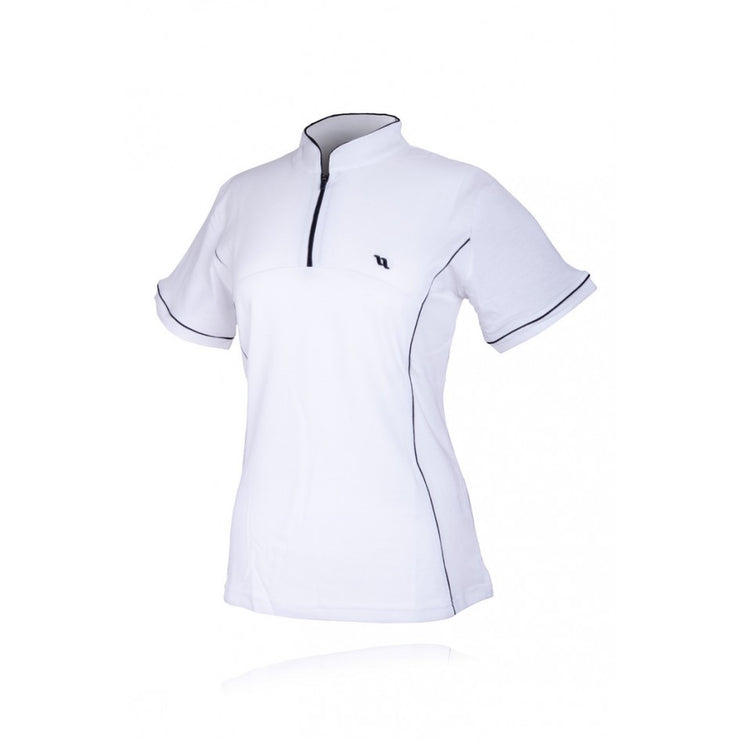 Back on Track Trainings-Shirt Slim Fit Damen, white