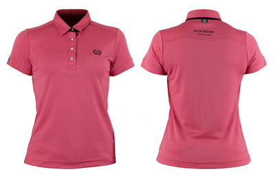 IQ Horse-PS of Sweden Polo shirt, Darling, Cranberry