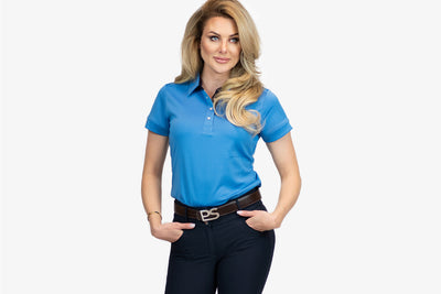 PS of Sweden Polo shirt, Darling, Blueberry