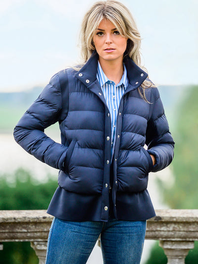 PS of Sweden Jacke Paisley, navy