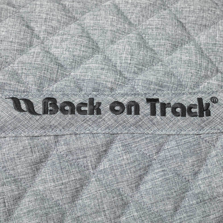 Back on Track Haze Collection Fleecedecke/ Abschwitzdecke, grau melange