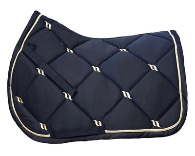 IQ Horse Back on Track Nights Collection Schabracke Springen, navy