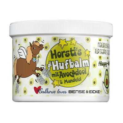 Bense & Eicke Soulhorse Collection HORSTI'S #HUFBALM mit Avocadoöl