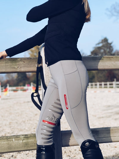 IQ Horse ea.St Reithose REGGINGS® Winter Edition - frost grey