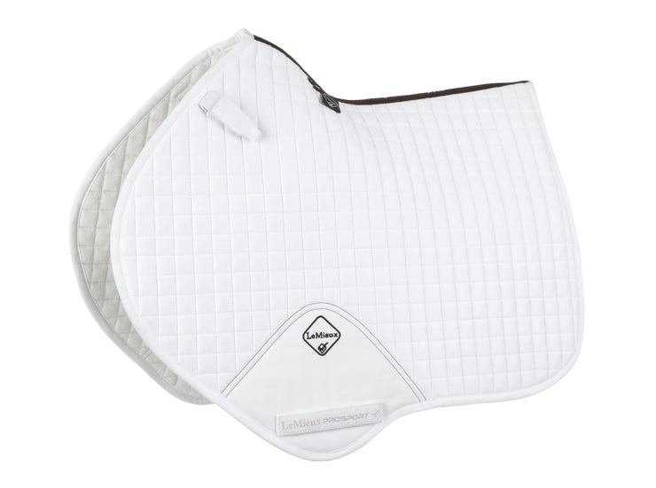 "LeMieux Springschabracke ""Luxury CC"", white"