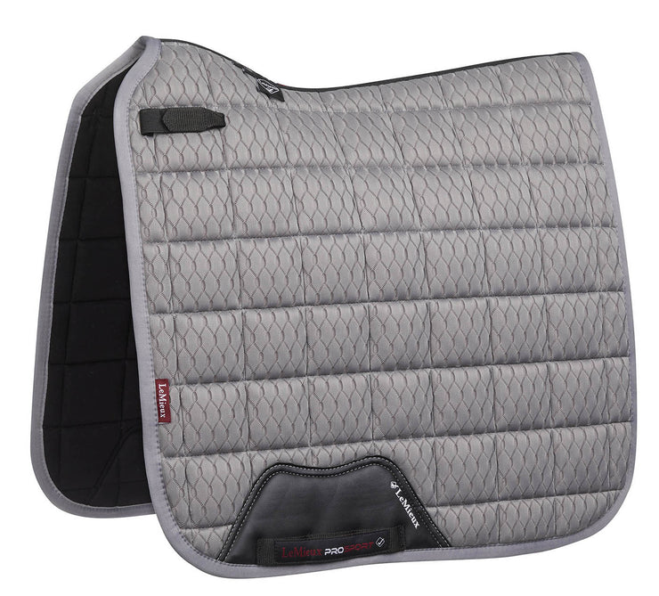 LeMieux Dressurschabracke, Carbon Mesh Air Dressage, Grey