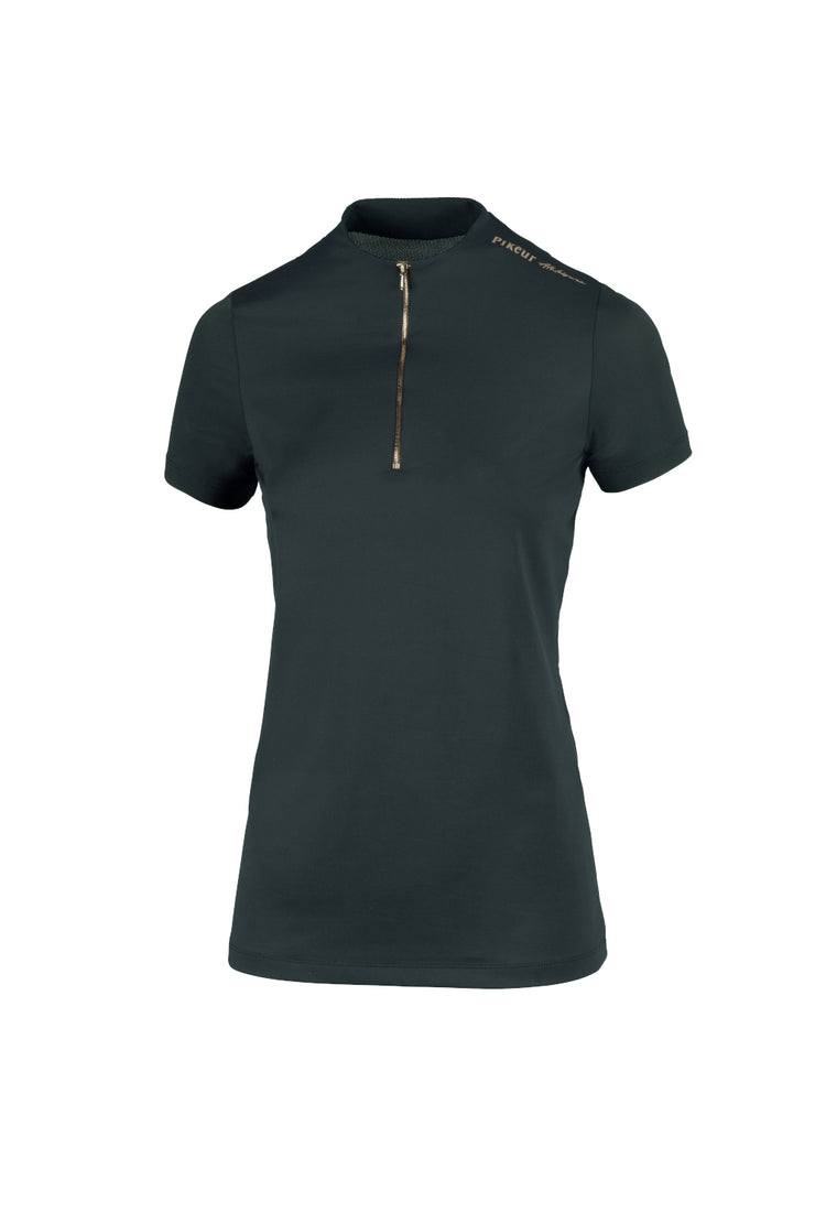 Pikeur Trainings-Shirt LINEE, Dark Green