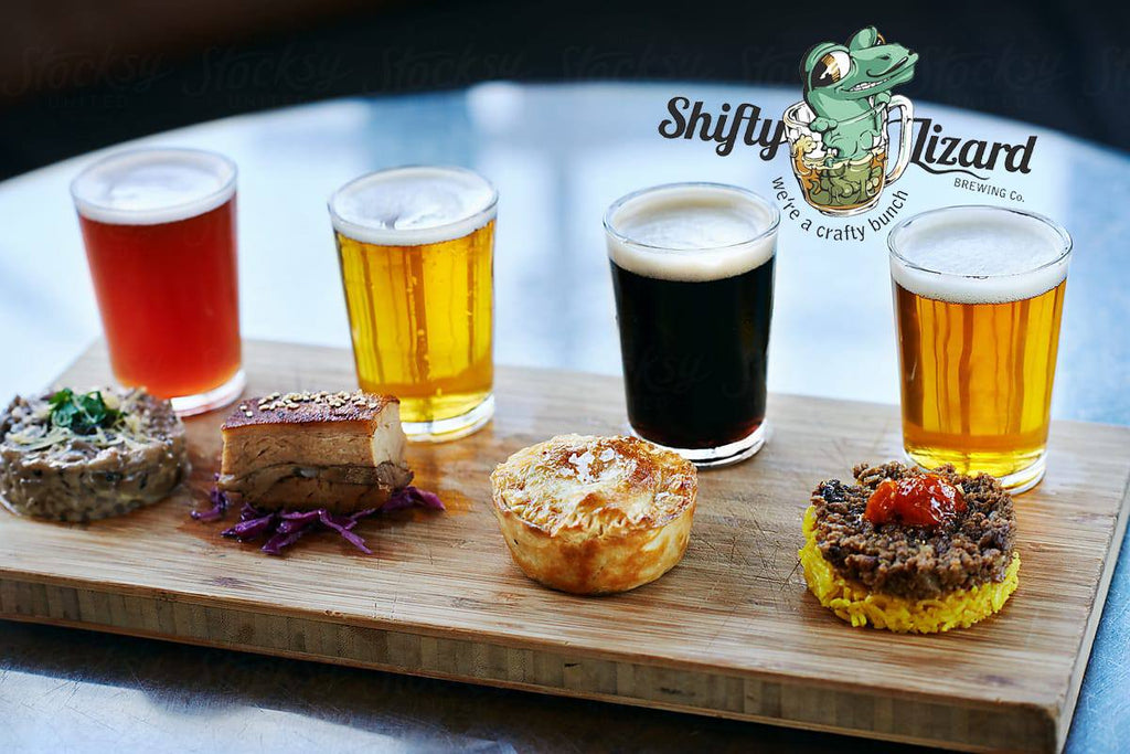 Craft beer tasting night in Melbourne by Shifty Lizard Brewing