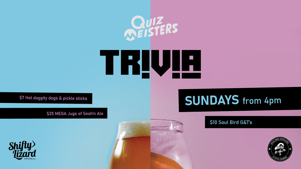 Trivia Sunday in Willunga by Shifty Lizard and Quiz Meisters