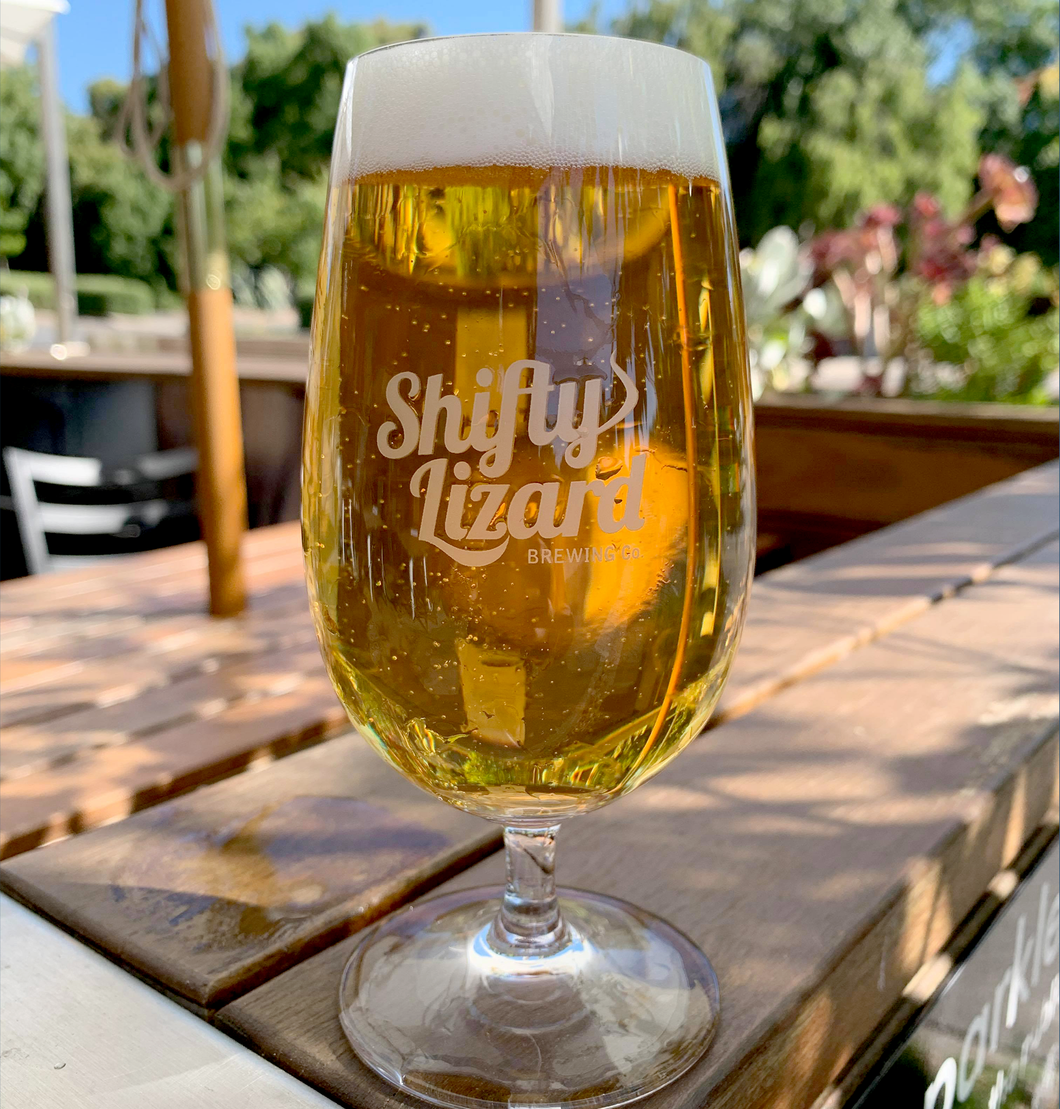 Shifty Beer Glass