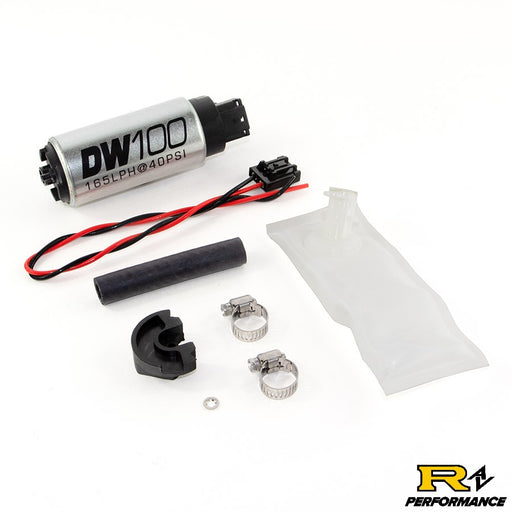 DeatschWerks 165lph in-tank fuel pump w/ install kit for 1994-02 Nissan 240sx Silvia S14 S15 OE Replacement 9-101-1024