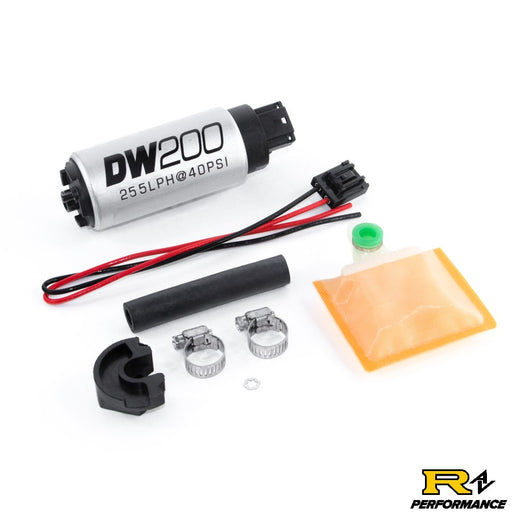DeatschWerks 255lph in-tank fuel pump w/ install kit for 1989-94 Nissan 240sx Silvia S13 OE Replacement 9-201-0766