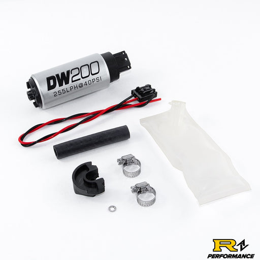 DeatschWerks 255lph in-tank fuel pump w/ install kit for Nissan 240sx/Silvia 1994-2002 S14 and S15 9-201-1024