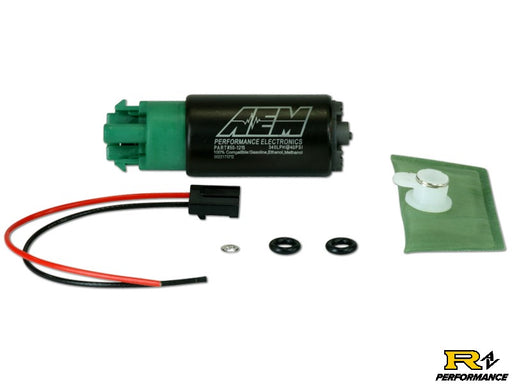 340lph E85-Compatible High Flow In-Tank Fuel Pump Kit (65mm with hooks, Offset Inlet) 50-1215