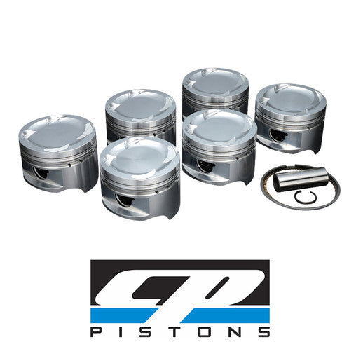CP Forged Pistons Nissan Skyline GTS-25T R33 RB25DET 86mm STD  9.0:1 SC7304