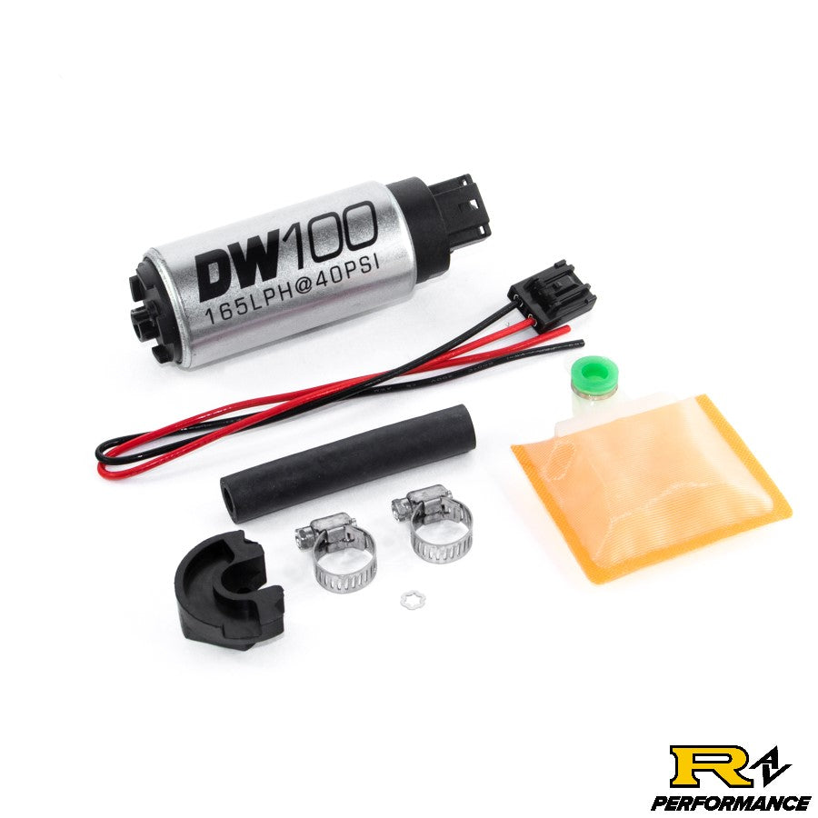 DeatschWerks 165lph in-tank fuel pump w/ install kit for 1989-94 Nissan 240sx Silvia S13 OE Replacement 9-101-0766