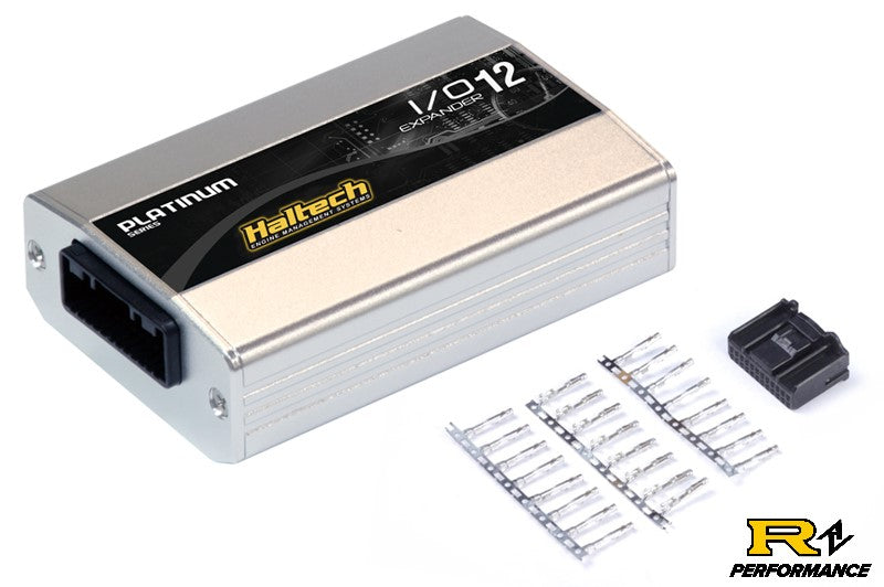 Haltech IO 12 Expander - 12 Channel with Plug & Pins Kit (CAN ID - Box A) HT-059902