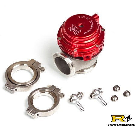 Tial MVR 44mm V-Band Universal Wastegate with Red Housing MVR44-RED