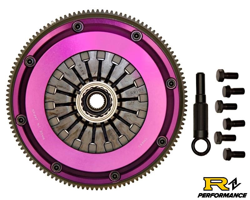 Exedy Hyper Twin Carbon-D CLUTCH Nissan Skyline Pull Type RB26DETT RB25DET NM042SDMC1