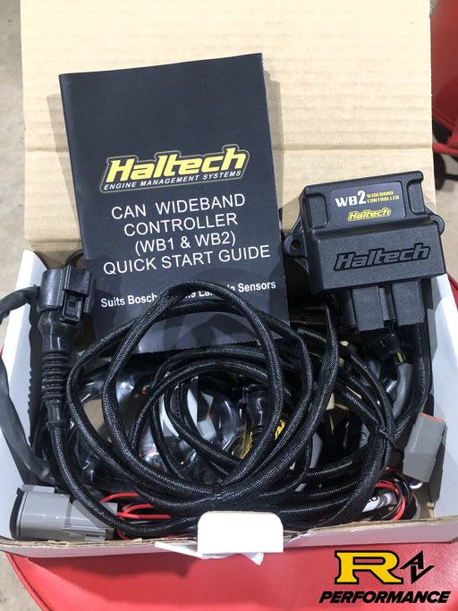 Haltech WB2 - Dual Channel CAN O2 Wideband Controller Kit HT-159986