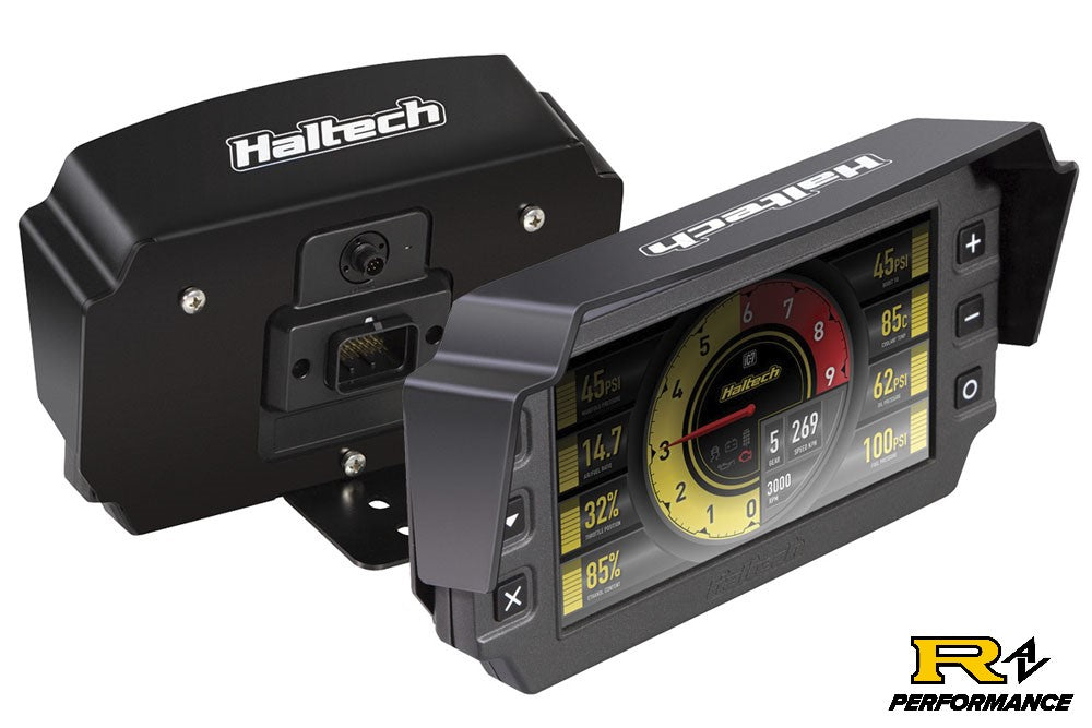 Haltech iC-7 Mounting Bracket with Integrated Visor HT-060071