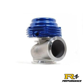 Tial MVS 38mm Universal External Wastegate V-Band Blue MVS38-BLU