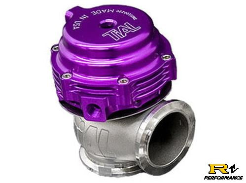 Tial MVS 38mm Universal External Wastegate V-Band Purple MVS38-PUR