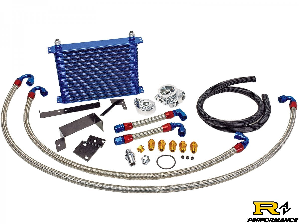Greddy 10 Row Oil Cooler Kit Nissan Skyline BNR32 GTR RB26DETT 1989-94 12024412