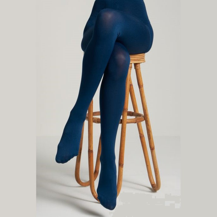 Solid Tights- Autumn Blue