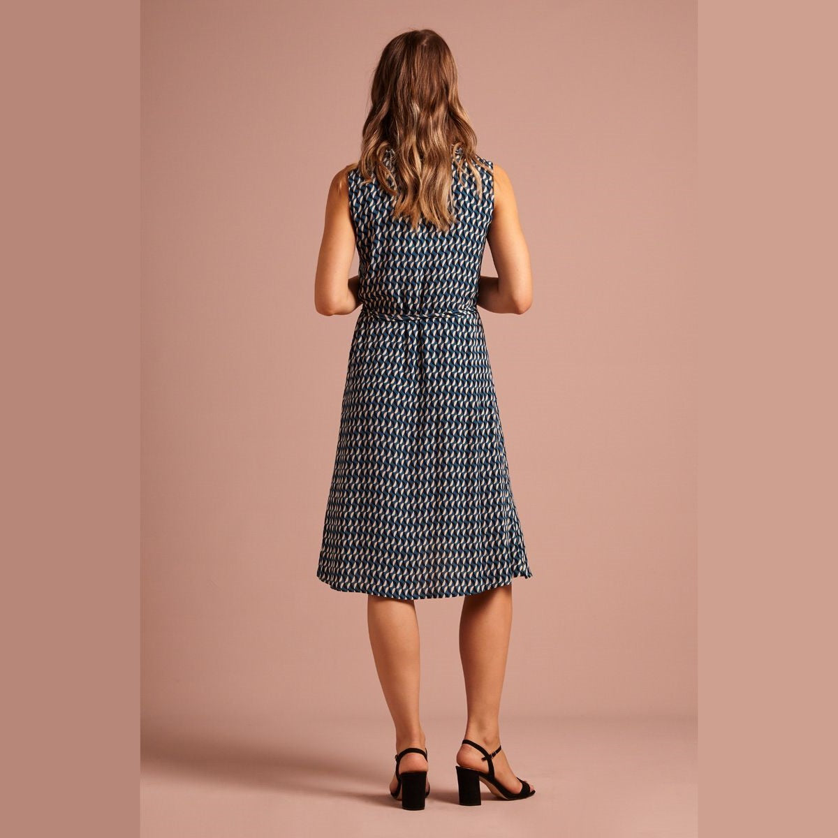 Abby Dress- Bay Blue