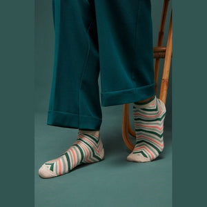 Bamboo Ankle Socks- Fir Green