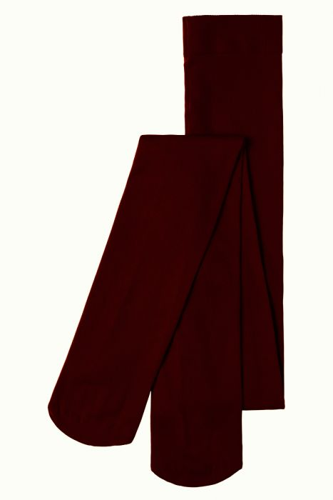 Solid Tights- Porto Red
