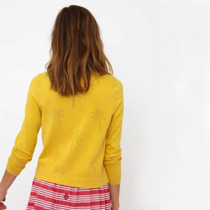 Lily Cardigan- Yellow