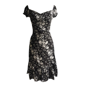 Nicola dress- Black