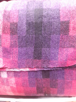 Check Coat Fabric Tone In Tone pink
