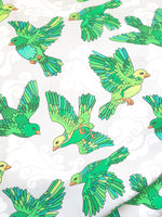 Bird on the wind green jersey